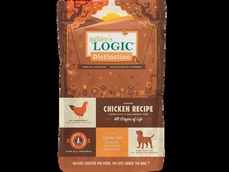 Introducing Nature's Logic Distinction Dog Food & Treats