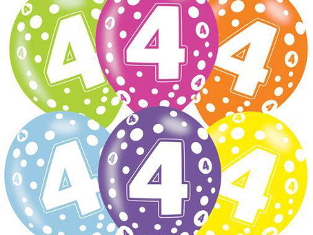 Happy Birthday to...us!