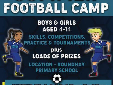 Summer Holidays Football Camp