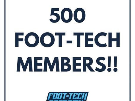 500 Members!