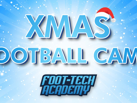 The Foot-Tech Xmas Camp 🎅