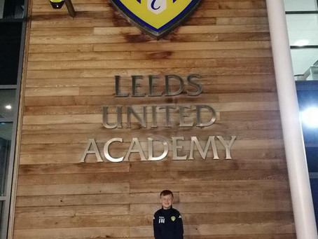 Alfie at Leeds United