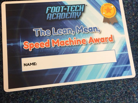 The New Speed Training Certificates