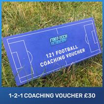 Foot-Tech Academy 1-2-1 Coaching Voucher