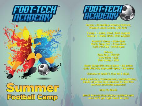 FTA Summer Camps 2017