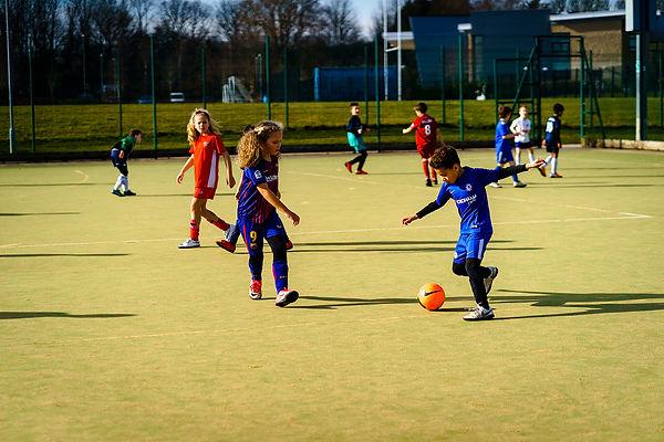 Childrens football camp Leeds