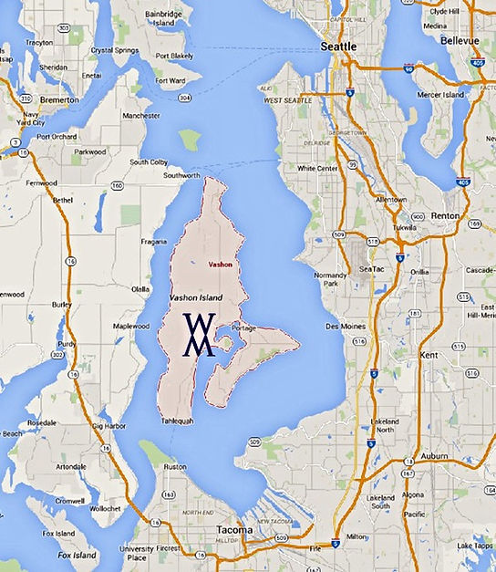Whittaker Marine consulting and captain services, based on Vashon Island.