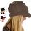 Thumbnail: Knit Twist Visor w/wide headband