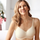 Thumbnail: Amoena Mara Non Underwire Padded Soft Mastectomy Bra Off White 44534