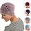 Thumbnail: Rosette Ruched Bamboo Turban - Hannah