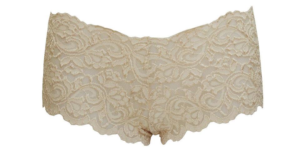 Lace Cream Brief