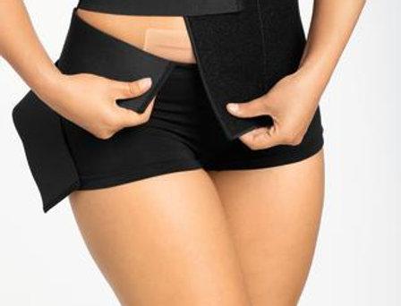 Amoena Abdominal Binder Belly Compression Bandage - Black 45005