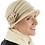 Thumbnail: 20S Wool Cloche Flower - Assorted Colours