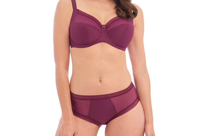 Fantasie Fusion Full Cup Side Support Bra Black Cherry FL3091