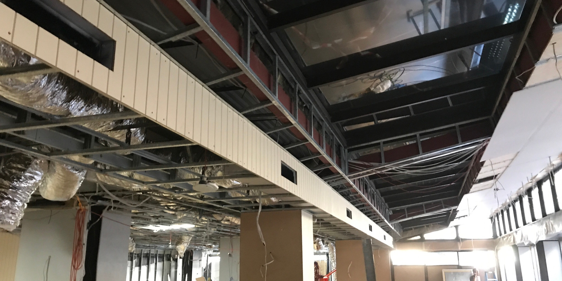Duct Installation at Gold Finch Restaurant