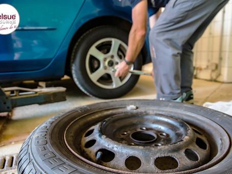 ¿Cubre el seguro la reparación o cambio de ruedas?