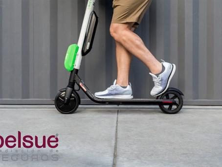 Seguros para patinetes eléctricos.