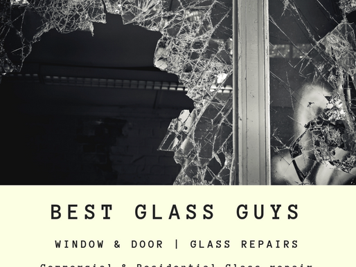 Commercial Glass Repair Service