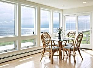 High impact glass pane in Palm Beach home.