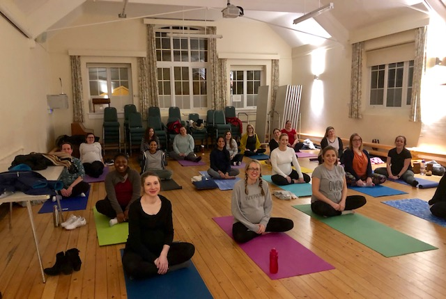 Sutton Yoga Ladies