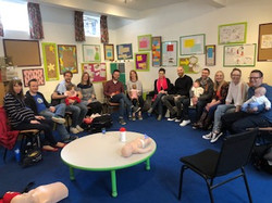 Group Baby First Aid Course Solihull