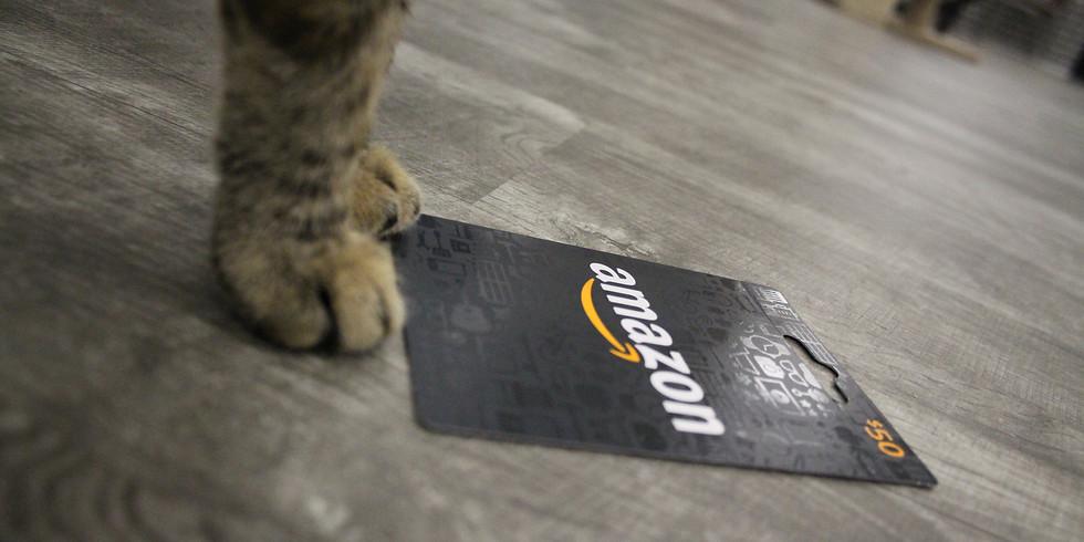Amazon Gift Cards Raffle-1500.00 Value