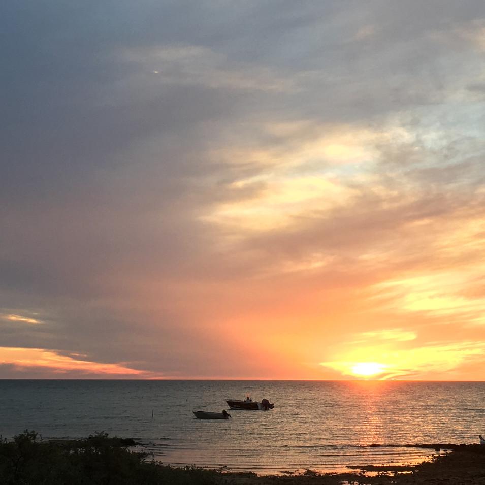 Gladstone Bay sunset