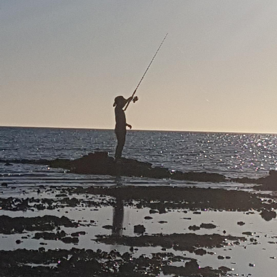 Land based fishing
