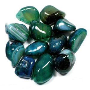 Agate (Teal Banded