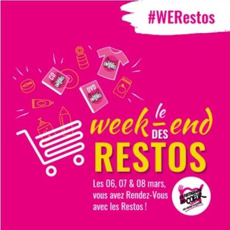 5, 6 et 7 Mars 2021, le Week-end des Restos  !