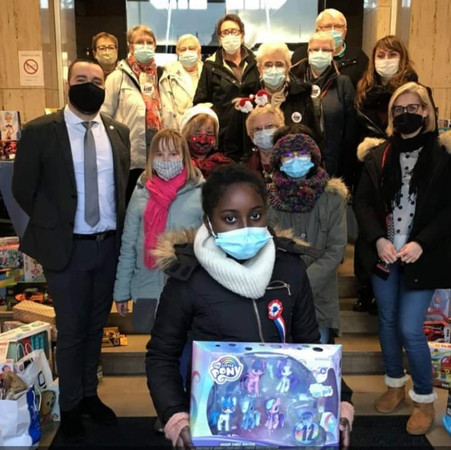 Wattrelos :  des jouets offerts par la ville dans les deux centres Restos !