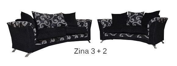Zina 3+2 Seater Sofa