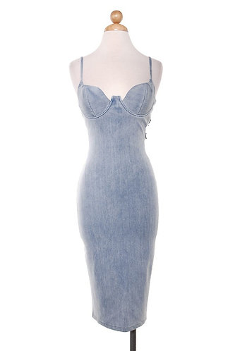 Denim Corset Dress