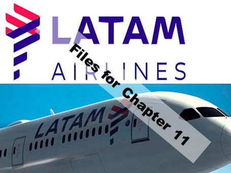 LATAM, files for Chapter 11