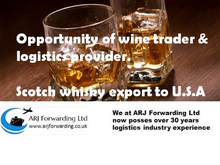 Opportunity of wine trader & logistics provider
