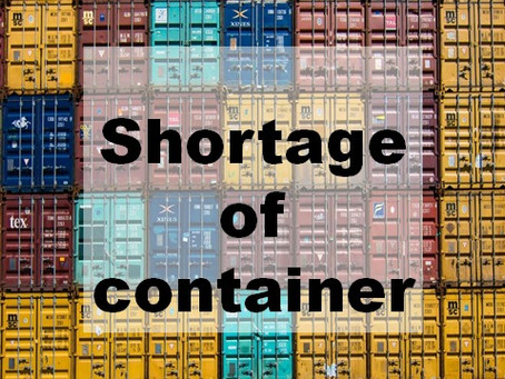 Container equipment imbalance realize soon