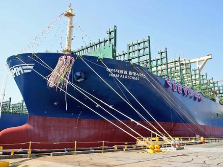Particulars of 24000 Teu ship