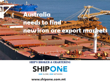 Australia needs to find a new iron ore export markets