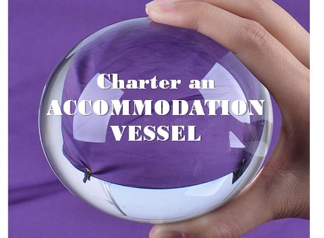 Referrals - CHARTER AN ACCOMMODATION VESSEL 360+ PAX ONBOARD