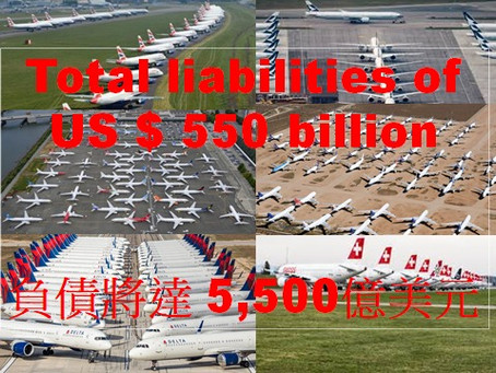 The liabilities of global airlines will increase
