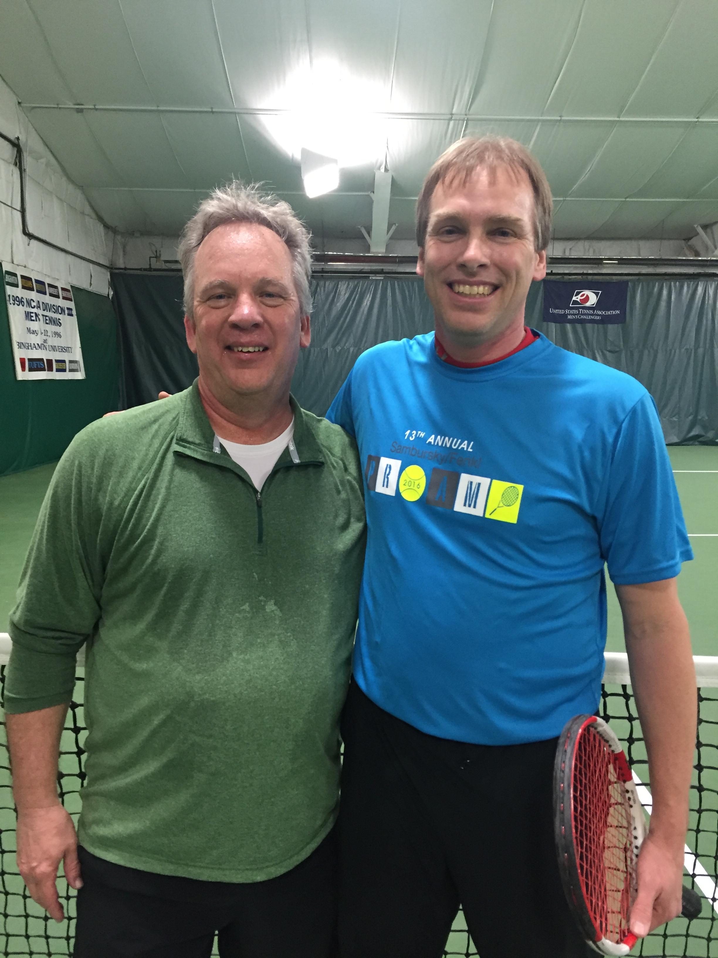 Winners Tom Kuhrt & Billy Mendler