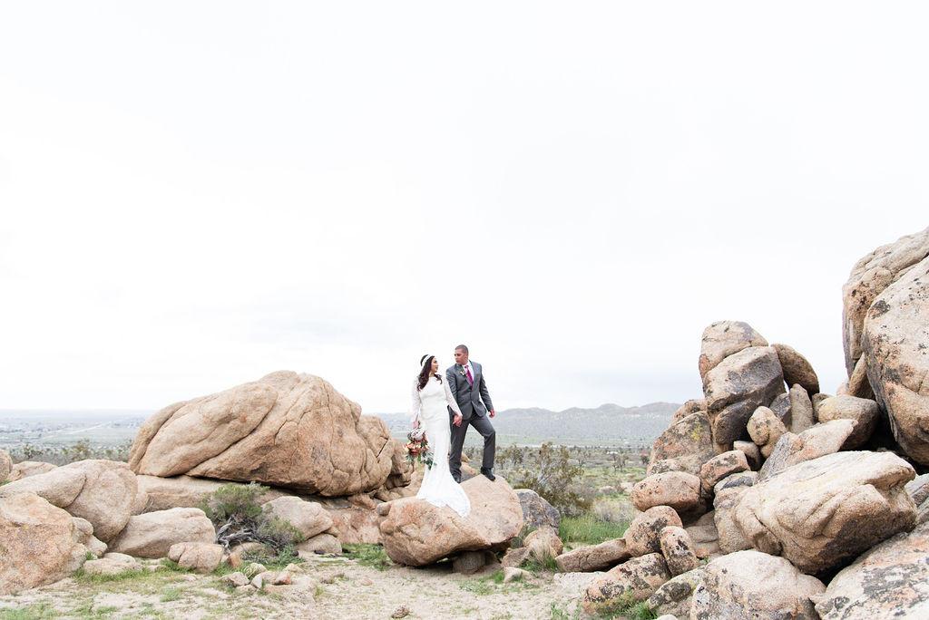 bohemian desert wedding rentals