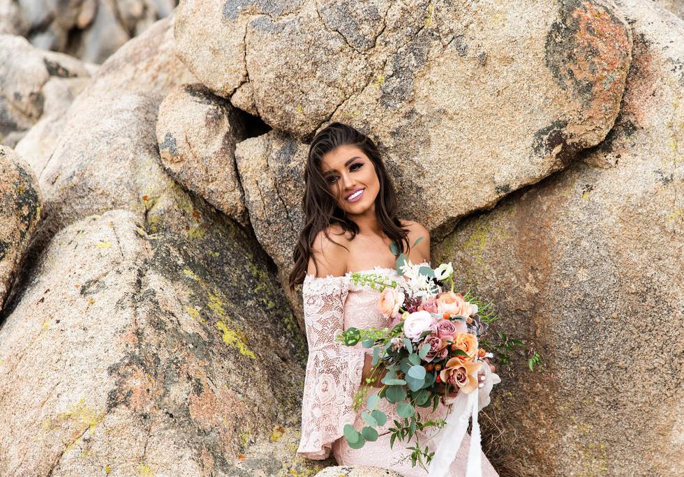 boho desert wedding rentals