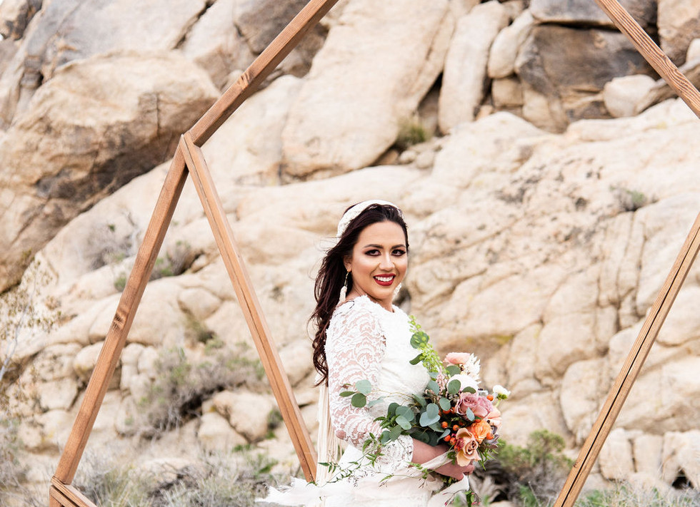 boho desert wedding ideas