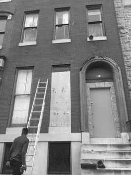 Historic home saved from demolition.
