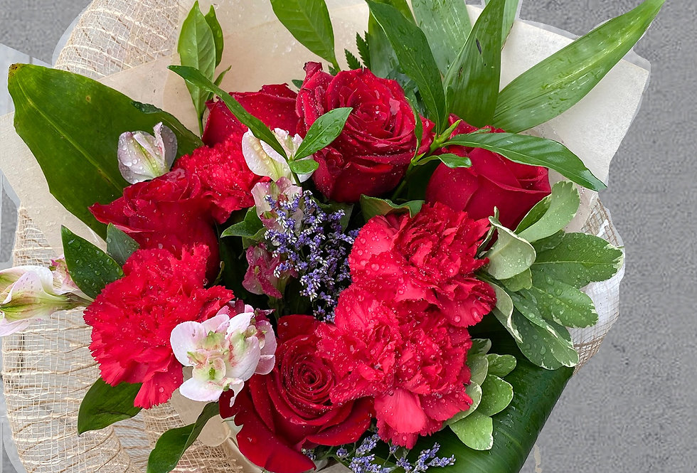 Sunshine & Love Hand-tied Bouquet