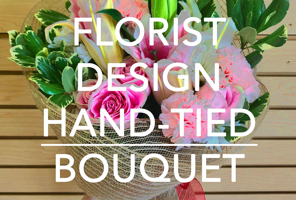 Florist Design Hand-tied Bouquet