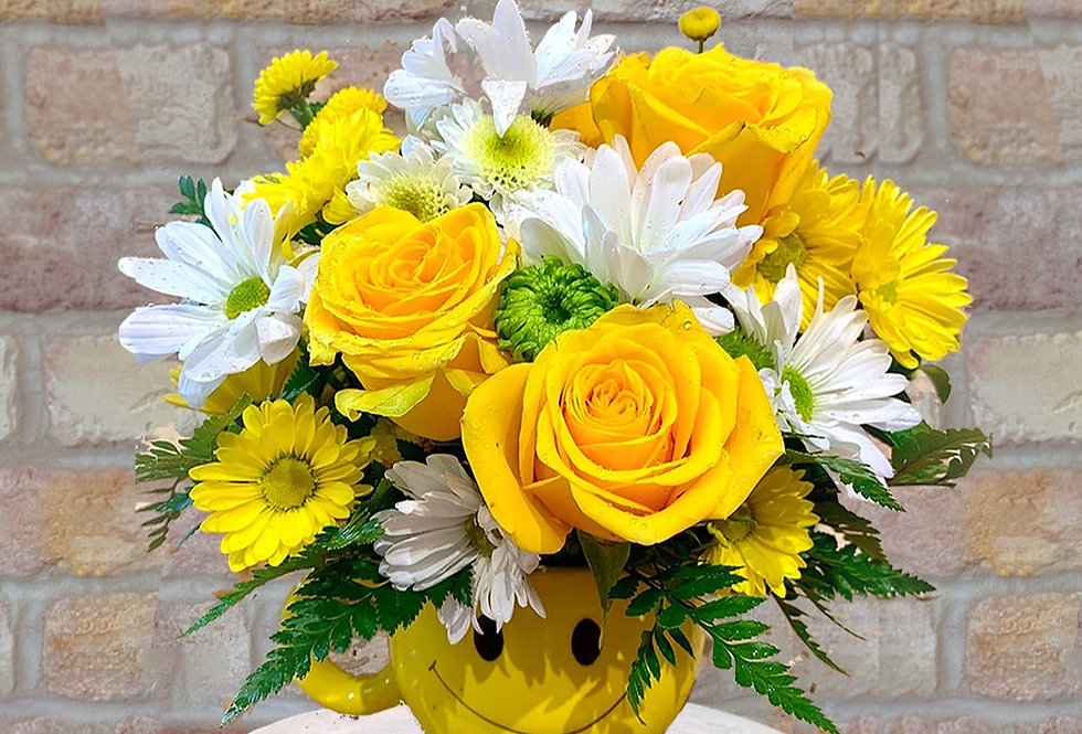 Smiles Forever Cup Bouquet