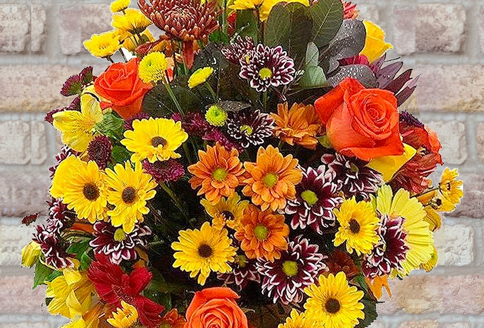Colors of Fall Centerpiece