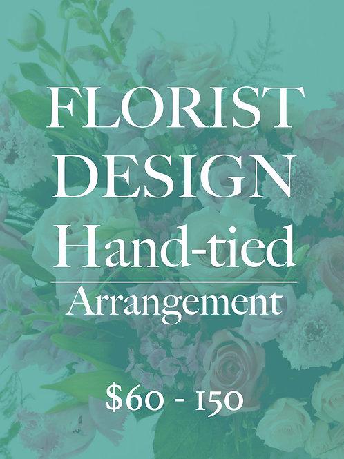 Florist Design HAND-TIED Bouquet